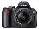 Nikon D40 Repair Book and Parts List